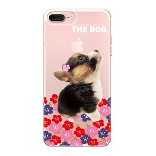 The Dog big dog license - TPU phone shell, AJ17