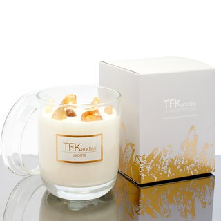 """Dance In The Forest"" naturally scented candle L"