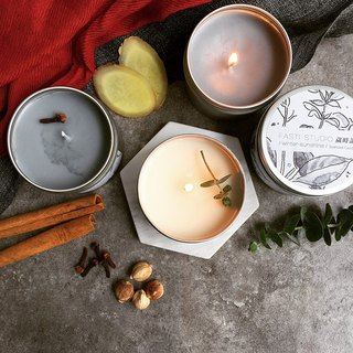 [Shiji] grass stained pure wool scarves + aromatherapy candles + Christmas gift box