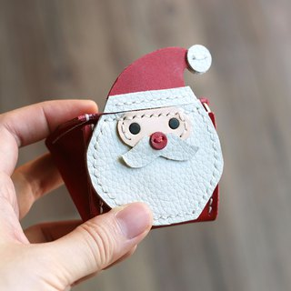 Christmas - Santa Claus Rice Ball Stereo Coin Purse
