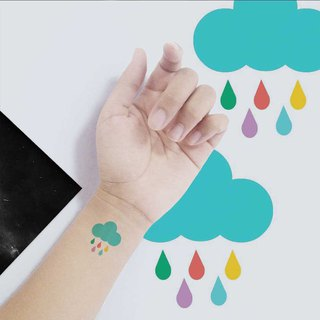 TU Tattoo Sticker -Coloured rain   waterproof Tattoo