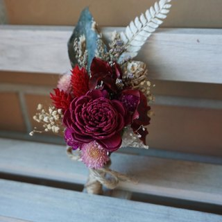 Preserved flowers immortalized flowers dried flowers. Groom / groomsmen bridesmaid / wedding officiate, corsage happiness