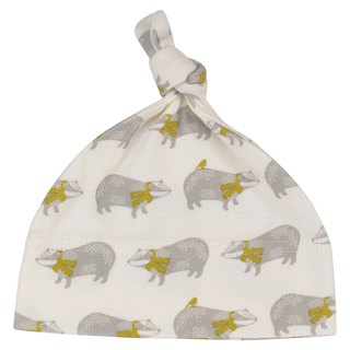 100% organic cotton cute baby 啾啾 hat