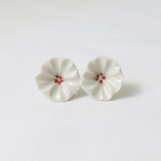 Cerisier en fleur ceramic earrings