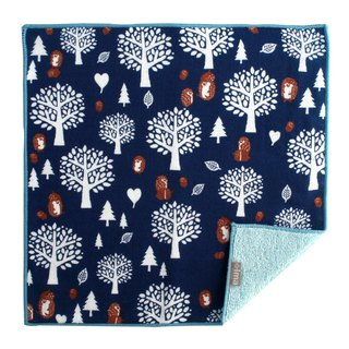 Made in Japan / Imported + ima WAFUK Soft, Cute & Unique Handkerchief - Hedgehog