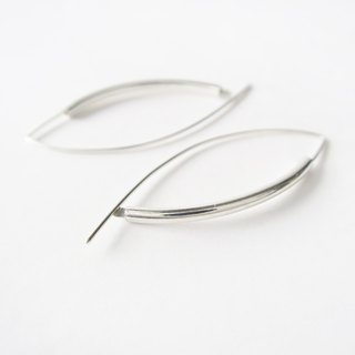 925 Silver Smile-shaped Earrings-Sold as a Pair