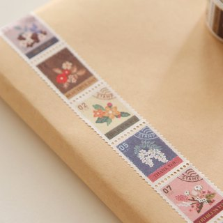 Dailylike Stamp Paper Tape (Single Roll)-08 Flowers, E2D07471