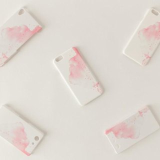 "[Order Production] SmartphoneCase ""Red, Clouds"""