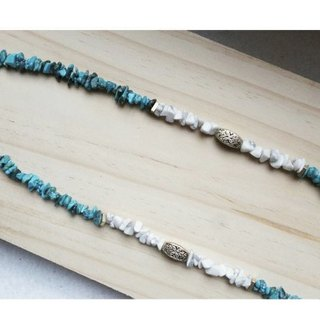 [Natural Stone Series] Handmade Turquoise Necklace