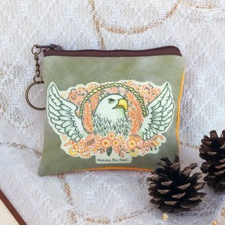 The gaze of an eagle coin purses ( small size)