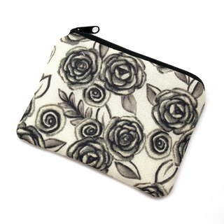 Zipper pouch / coin purse (padded) (ZS-222)