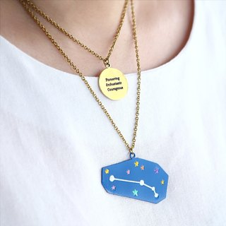 Zodiac Constellation Necklace, Zodiac Necklace, Zodiac Jewelry, Constellation Necklace, Personality Traits, Zodiac Traits