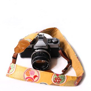 Day and Fireworks Yellow 4.0 Decompression Camera Strap