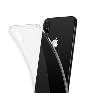 iPhoneX HD transparent soft shell mobile phone shell is not yellow