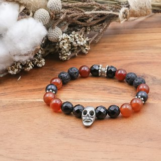 Wild Party | Agate Volcanic Natural Stone Bracelet