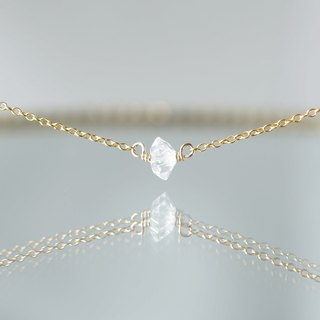 【14KGF】Necklace-Gemstone,Dream Crystal, NY Herkimerdiamond-