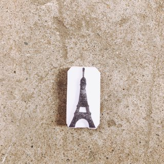 Cover which handmade seal - go travel - the Paris Tower models