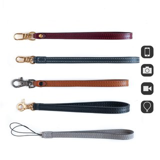 Patina Handmade SF18 Leather Phone Camera Strap Wrist Strap