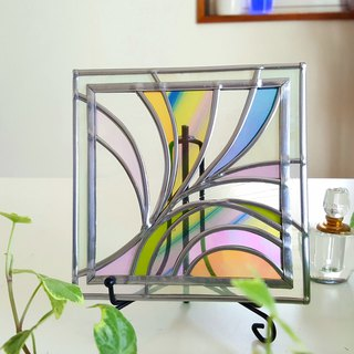 "Iron stand decoration art ""Spring breeze 1"""