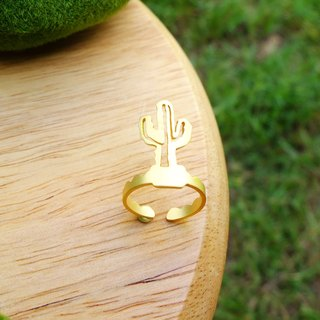 Ring Simple Cactus