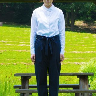 白色女用襯衫 LADIES SHIRT bansyuori