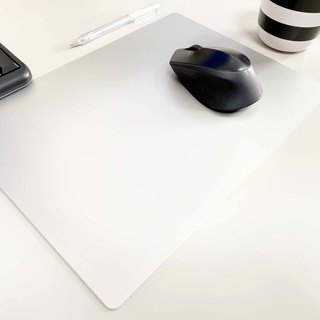 Aluminum alloy stationery │ A4 size mouse pad │ silver