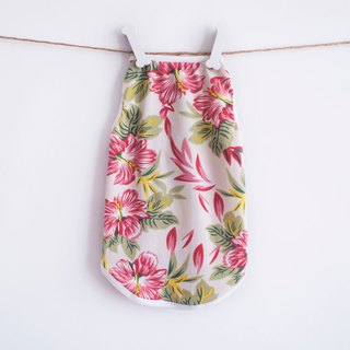 Can be customized. Super soft blossoming flowers pet clothing