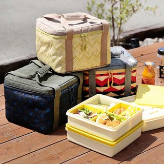 CAMP three-tier picnic box insulation bag set