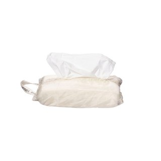 VINTAGE PARACHUTE TISSUE COVER White Vintage Paper Cover - Limited Edition White