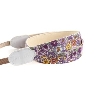 mi81 Neck Strap Purple Flower