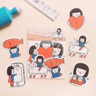 Yohand Adventure / Medium Sticker Set 3-4