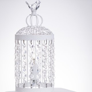 Classic bird cage table lamp