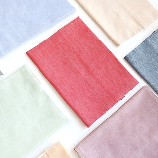 New color! Five-color optional plain cloth book / cloth book cover can be adjusted (32 open A5)