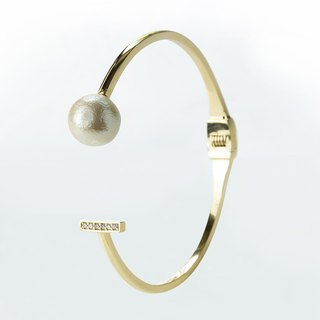 [Code series - Attraction cotton pearl bracelet]