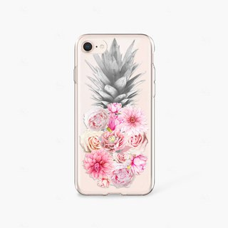 Foodie Gift Pineapple iPhone 8 Case Clear iPhone 7 Case Clear iPhone 8 Plus