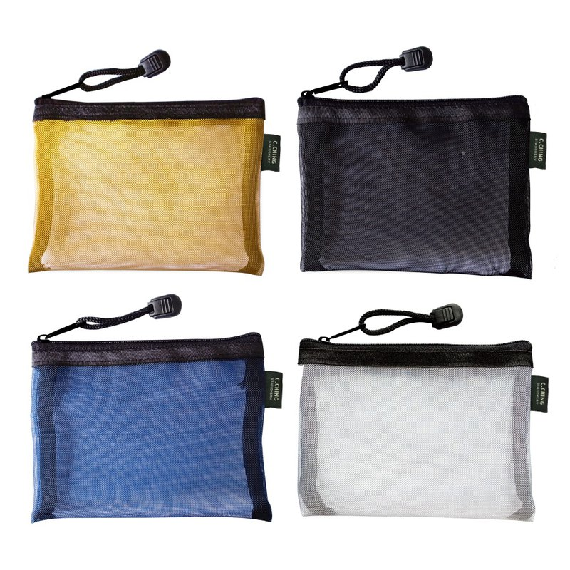 Ching Ching X CHOICE Series CBG-338 A7 Metallic Nylon Zipper Bag