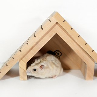 "Workshop Head [small] the tide ei ""fashion Mongolia Mouse House"" 2017 summer latest hamster supplies pet hamster rat's nest wooden house yurt in Mongolia"