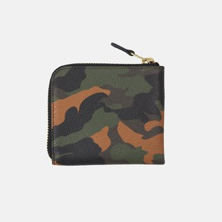 Tali Wallet Orange camouflage