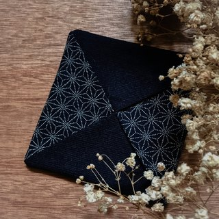 Japan Shashiko Star Stitches Criss Cross Coaster