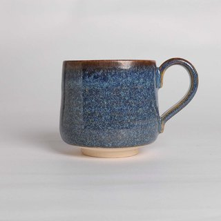 Blue iron painted cup