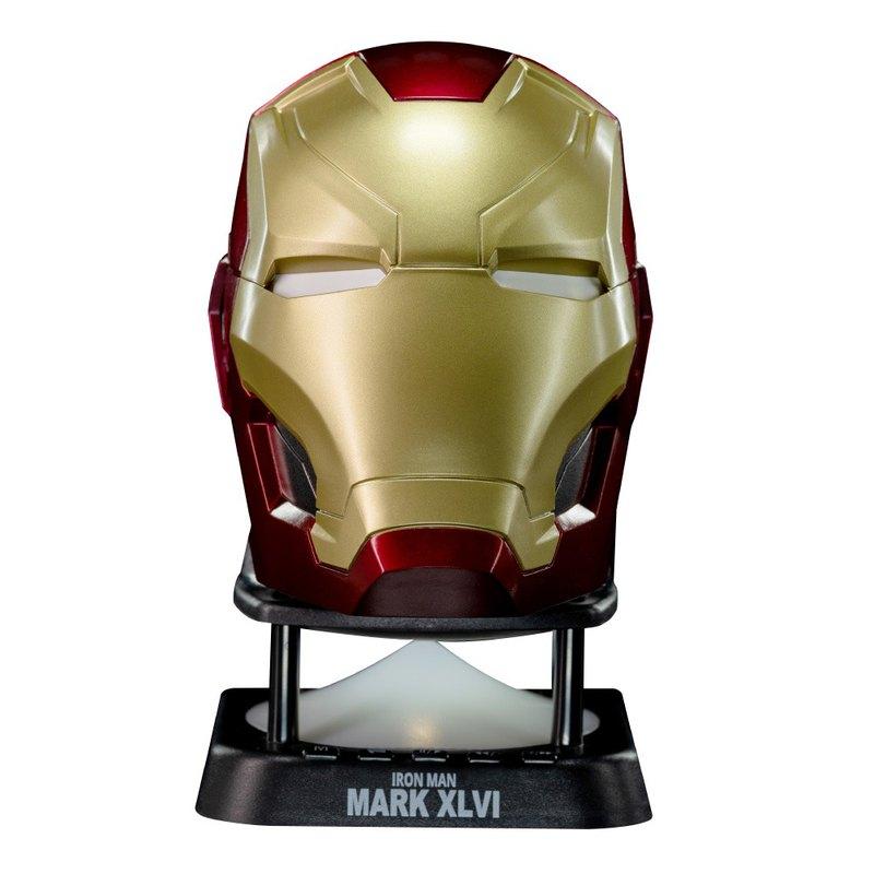 鋼鐵人Mark46頭盔迷你藍牙喇叭 新款 藍牙可串聯