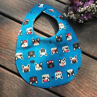 A lot of dogs double sided bib