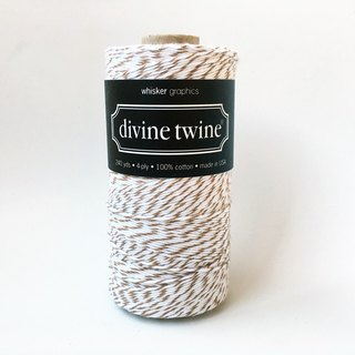 US imports Divine Twine double color cotton thread 【Brown Sugar】