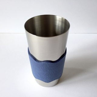 Tumbler with sleeve 400 ml Blue