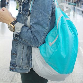 LUSH | Folding Light Backpack - Blue
