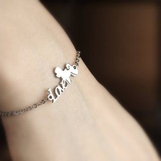 [Loveit] LOVE Stainless Steel Bracelet
