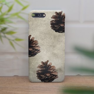 3 Pine cones iphone case สำหรับ iphone7 iphone 8, iphone 8 plus ,iphone x