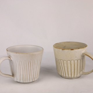 White misty beauty coffee cup