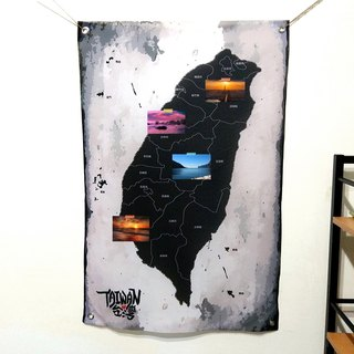 Taiwan wall decoration cloth Kuroshio industrial wind