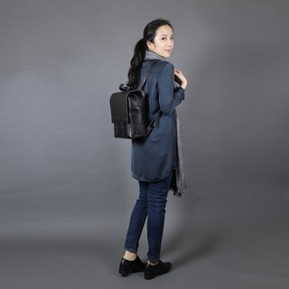 After the Passion back black backpack / laptop